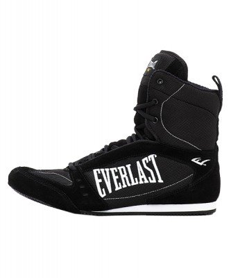 Боксерки Everlast High-Top Competition Black