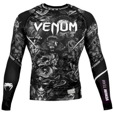 Рашгард Venum Art Black LS