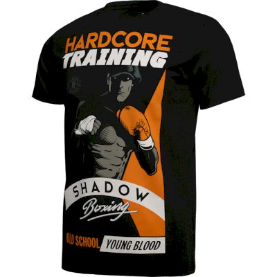 Футболка Hardcore Training Shadow Boxing Black