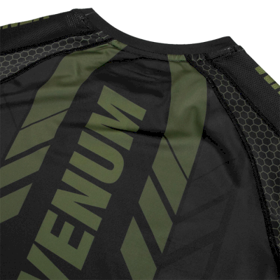 Рашгард Venum Technical 2.0 Khaki/Black SS - фото 4