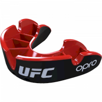 Капа UFC Opro Silver Level Black/Red