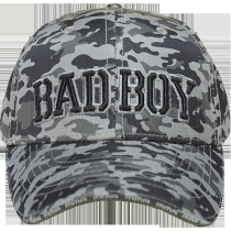 Кепка Bad Boy Bad Military light Camo Grey