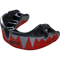 Капа UFC Opro Platinum Level Fangz Red/Silver